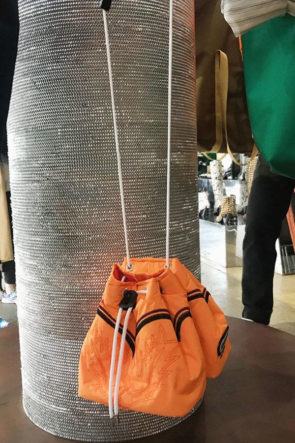9e6bb7f555 数量限定 予約商品◇【TOGA PULLA】DRAWSTRING BAG OUTDOOR SP/ORANGE(22,000円)
